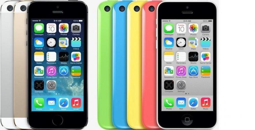 Неофициальные iPhone 5S и 5C в России: цены до 100 тыс. рублей