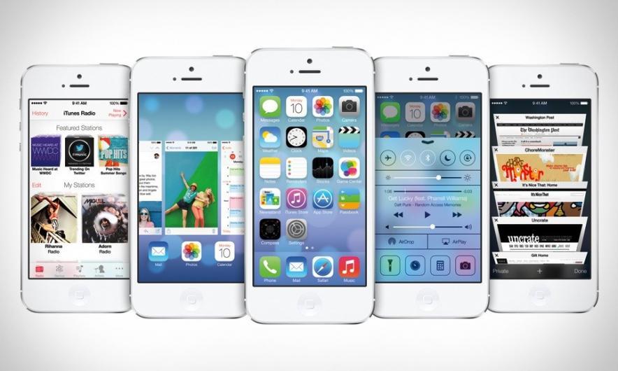 Apple выпустила новую iOS 7 со множеством ошибок