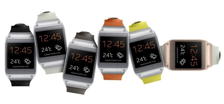 «Умные» часы от Samsung: GALAXY Gear