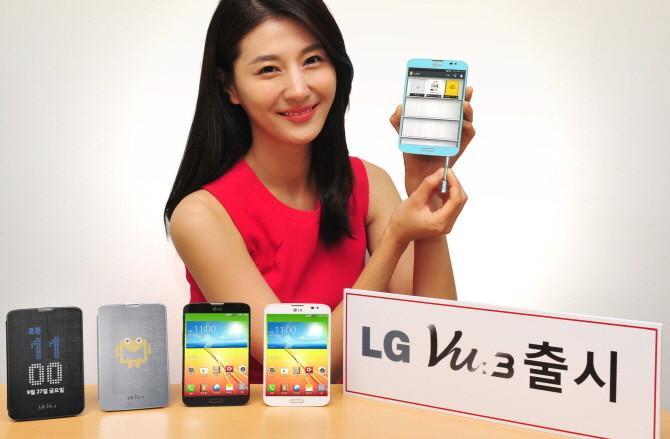 LG официально представила планшетофон Vu 3