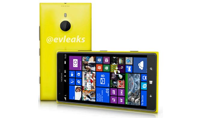 Пресс-фото 6-дюймового Nokia Lumia 1520 (Bandit)