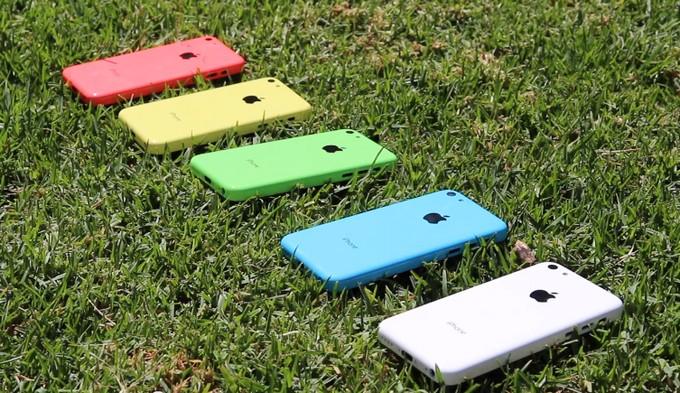 Первое видео работающего iPhone 5C