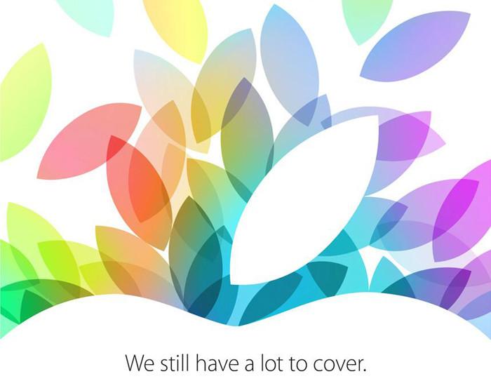Официально: Apple представит новые iPad 22 октября