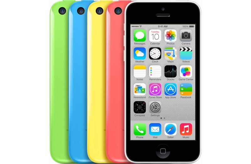 Apple iPhone 5c не пользуются спросом