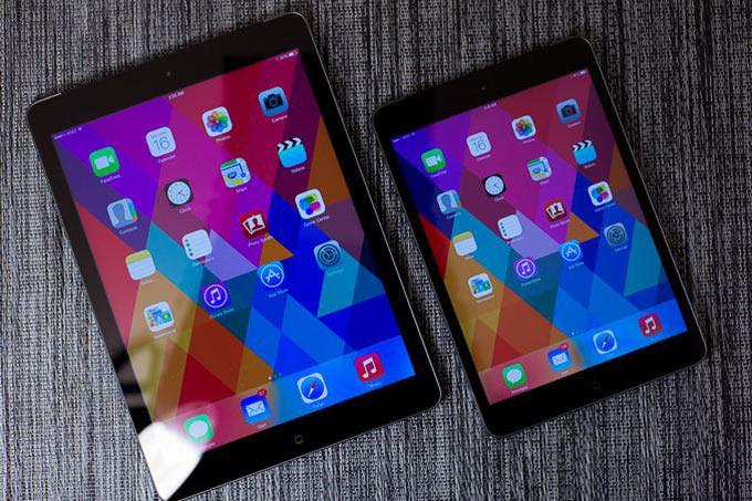 iPad Air превзошел Retina iPad mini по автономности и качеству дисплея