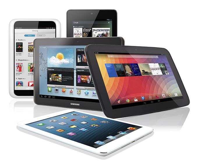 В 2014 планшеты отнимут половину рынка у ПК, а iPad начнет проигрывать Android-устройствам