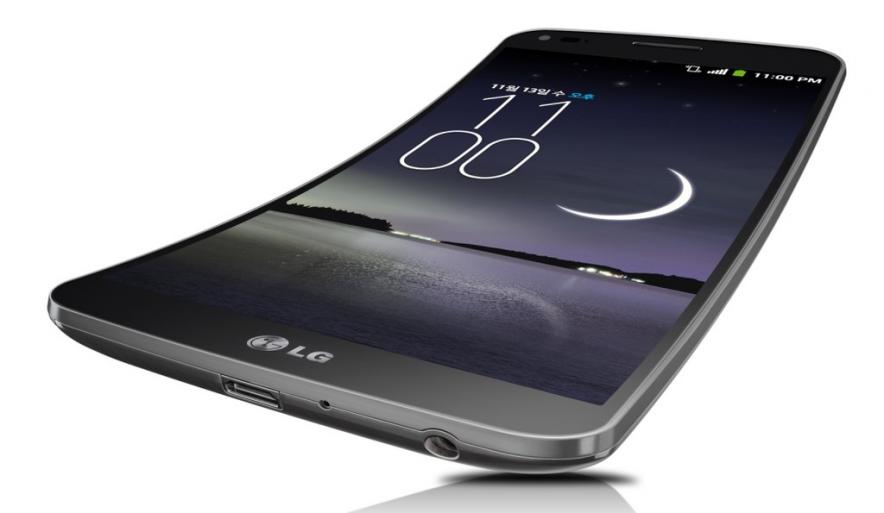 LG G Flex не прошел дроп-тест
