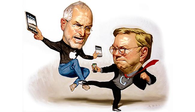 Apple и Google: Конец противостояния