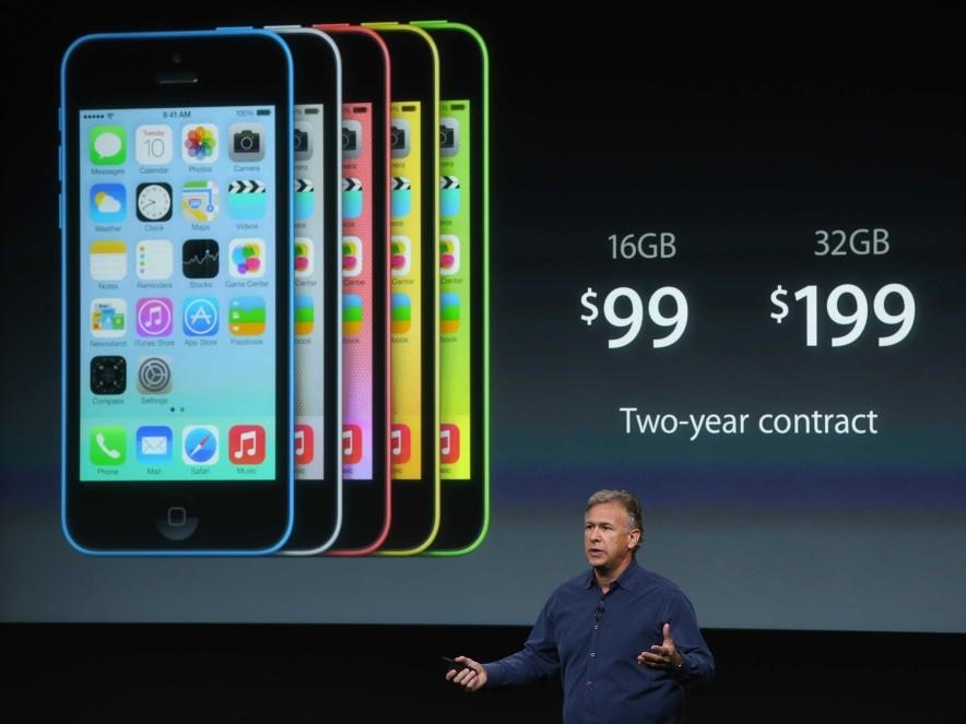 Провал iPhone 5c