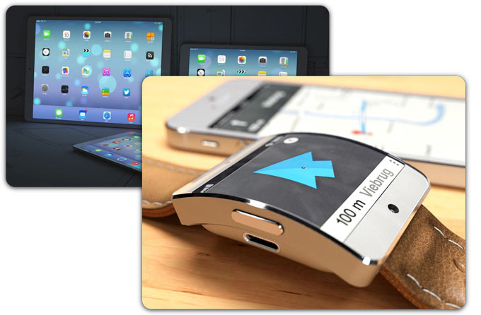 Apple планирует начать продажи iWatch во втором квартале 2014. «Большой» iPad задержится