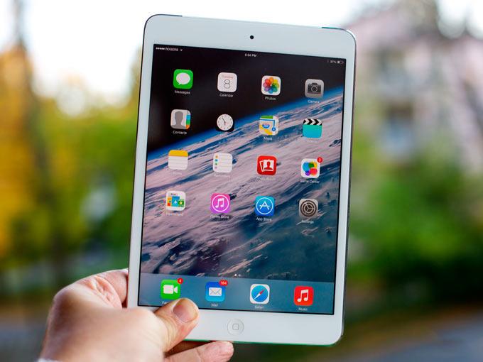 Дисплей Retina в iPad mini назвали устаревшим