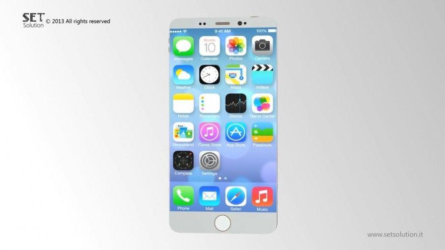 Сверхтонкий iPhone 6 Air, изогнутый iPhone 6C и iPhone 6 со сканером сетчатки глаза