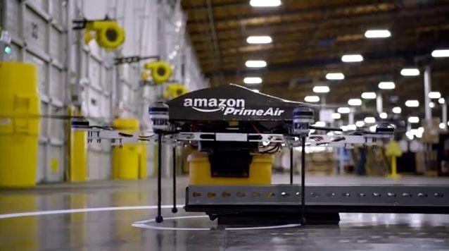 Amazon: мы доставим ваш заказ при помощи дронов за полчаса