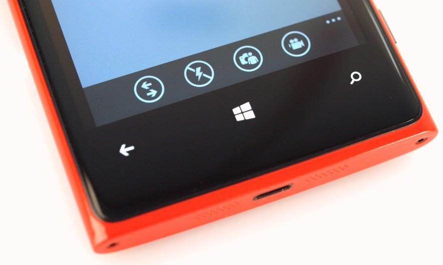 В Windows Phone 8.1 появится поддержка виртуальных кнопок
