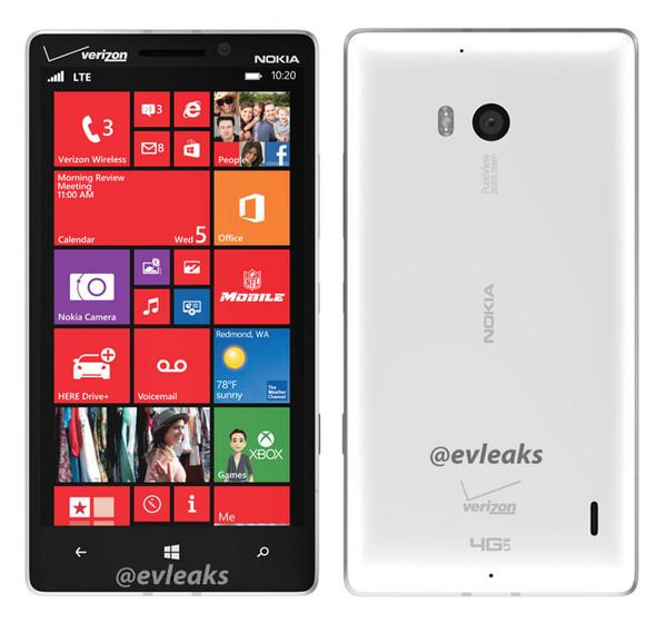 Nokia Lumia 929: новые подробности