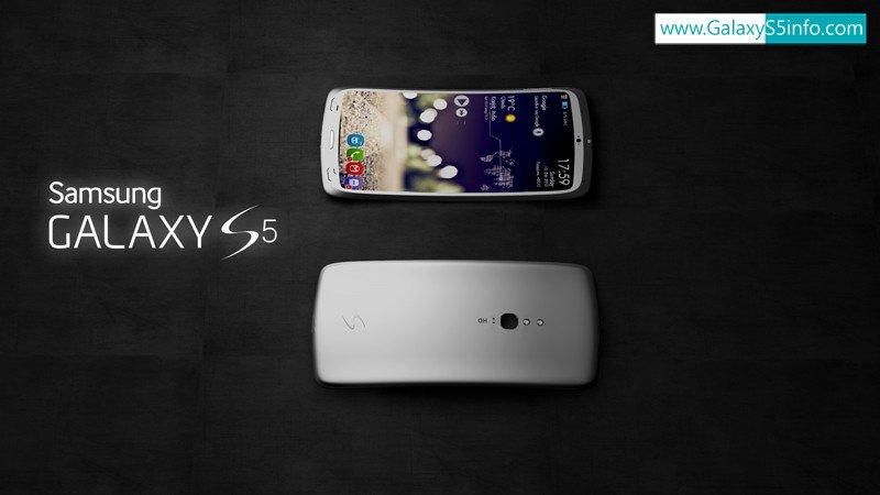 Samsung GALAXY S5: изогнутый 2K-дисплей, 4 динамика и сканер радужки