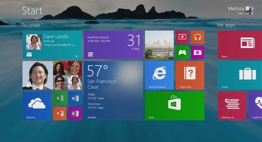 В Windows 8.2 вернется полноценная кнопка «Пуск»