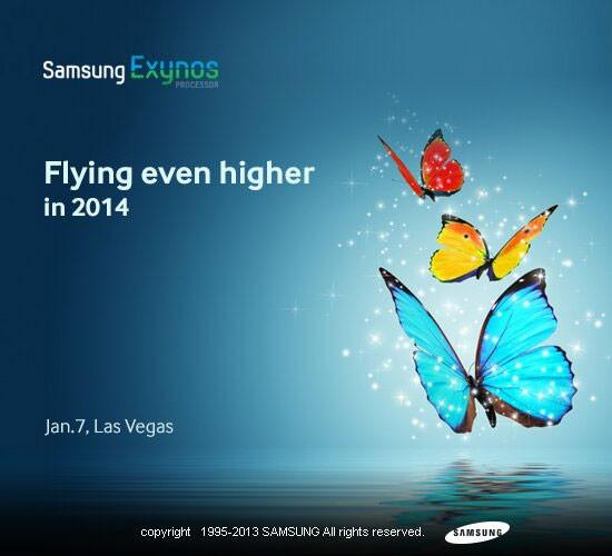 Samsung покажет более мощный Exynos на CES 2014