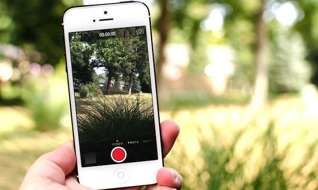 Трюк с камерой в iOS 7: Баг или предвестник будущего?