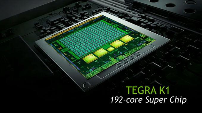 NVIDIA жжот со 192-ядерным процессором Tegra K1, который втрое быстрее Apple A7