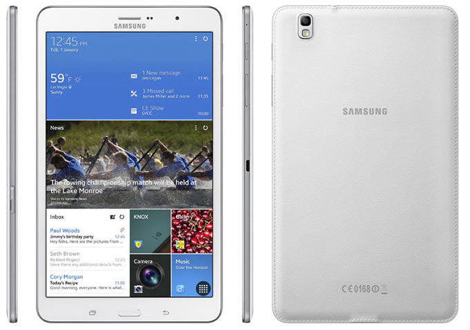 Samsung представила сразу четыре планшета, включая конкурента Retina iPad mini