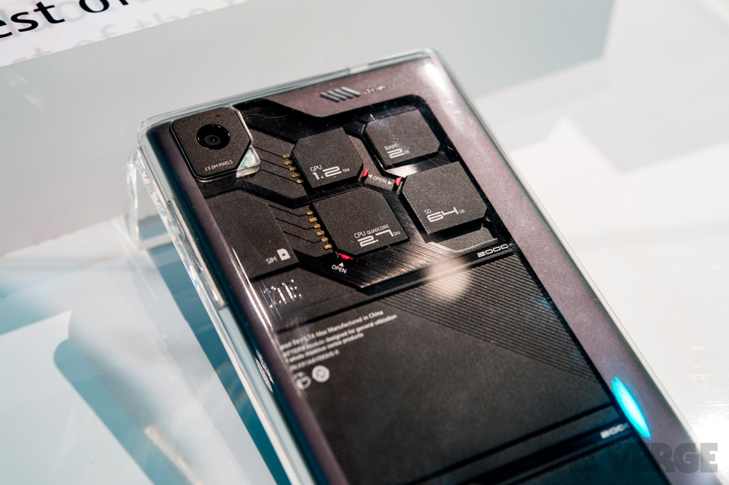 Модульный смартфон от ZTE представлен «вживую» на CES