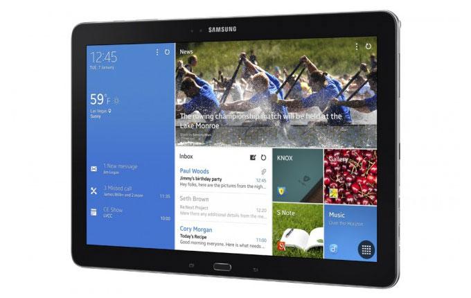 [CES 2014] Samsung представила 12,2-дюймовый планшет