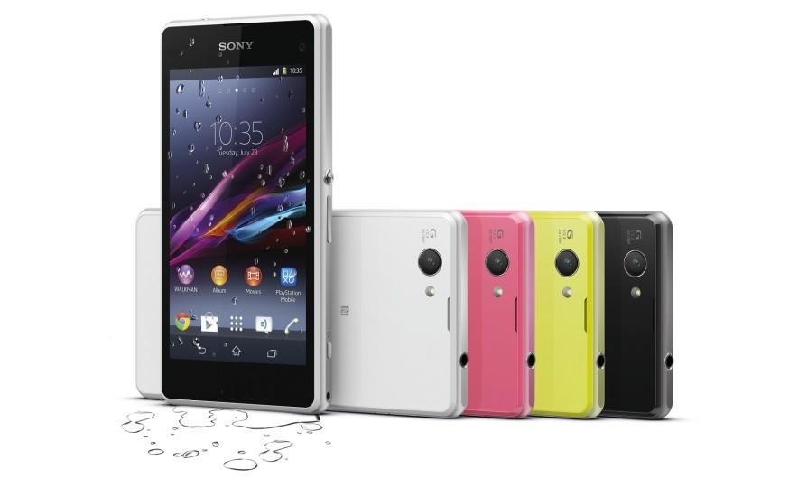 Sony анонсировала мини-флагман Xperia Z1 Compact и браслет SmartBand