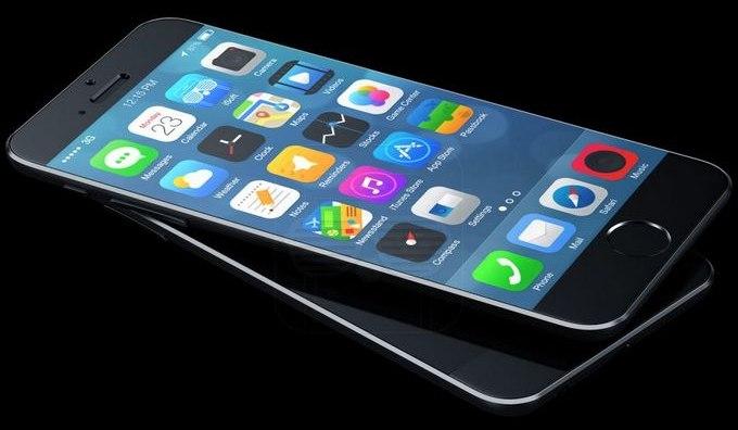Концепт iPhone 6 с iOS 8