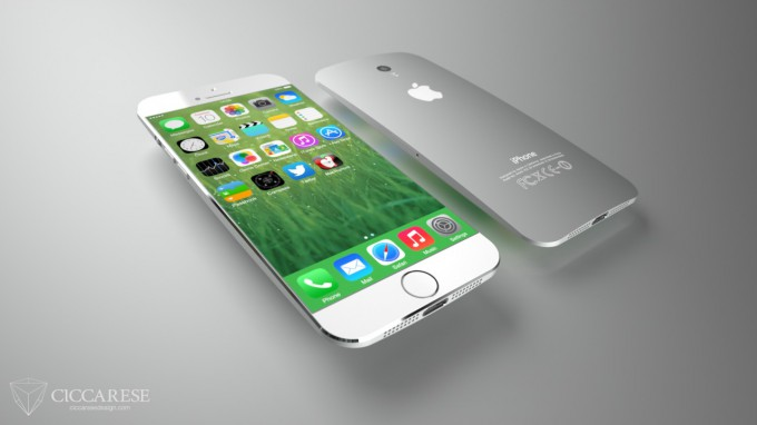 Концепт iPhone 6 от Сiccarese Design