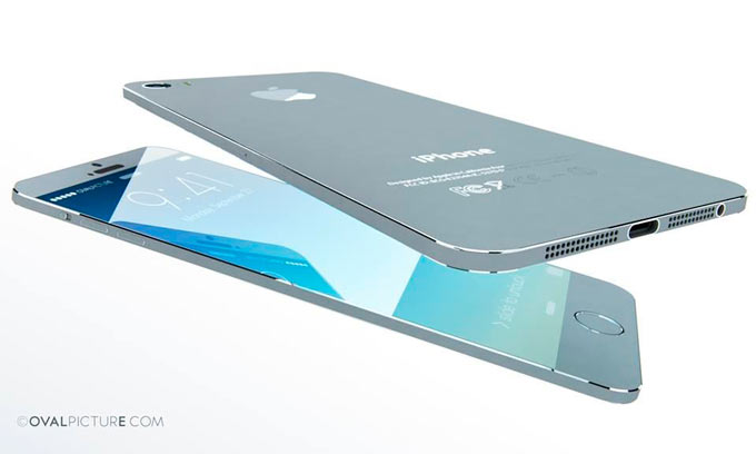 Концепт 5,1-дюймового iPhone Air от Ovalpicture