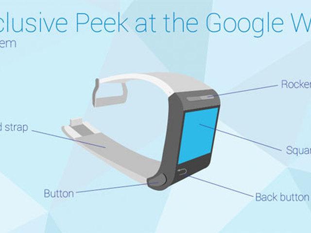 В сеть попали изображения часов Google Watch от Motorola