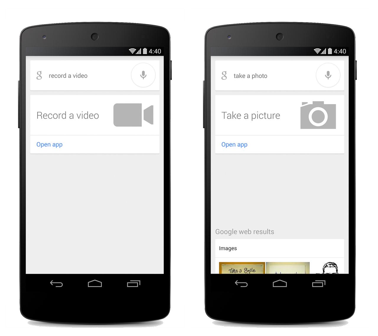 Обновленный Google Search управляет камерой голосом