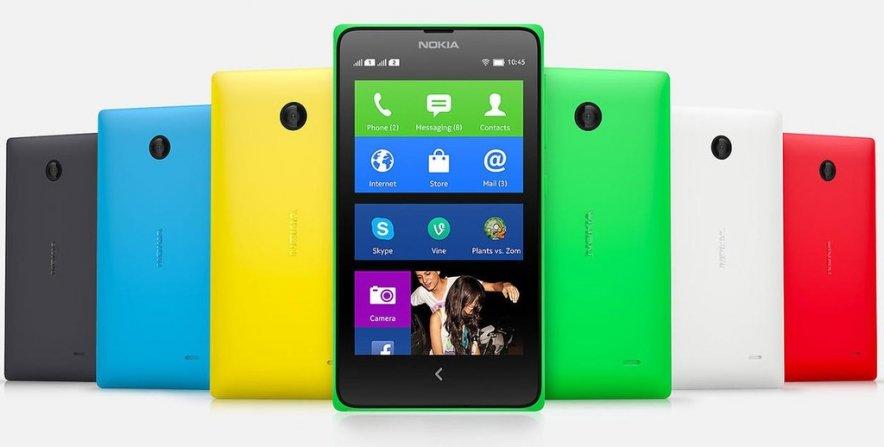 Обыкновенный Android-смартфон Nokia X