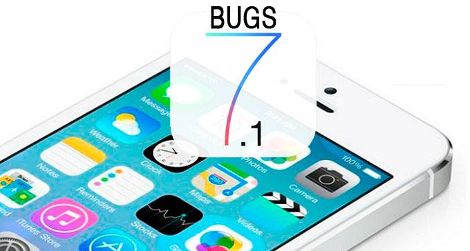 """Проблемы и """"баги"""" в iOS 7.1"""