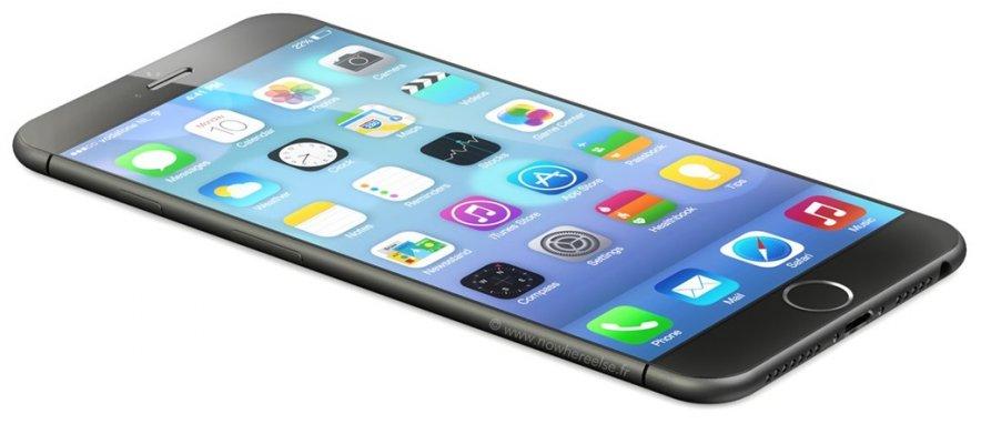 Начинается производство дисплеев для iPhone 6