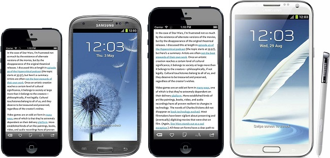 И всё же, почему большой iPhone?