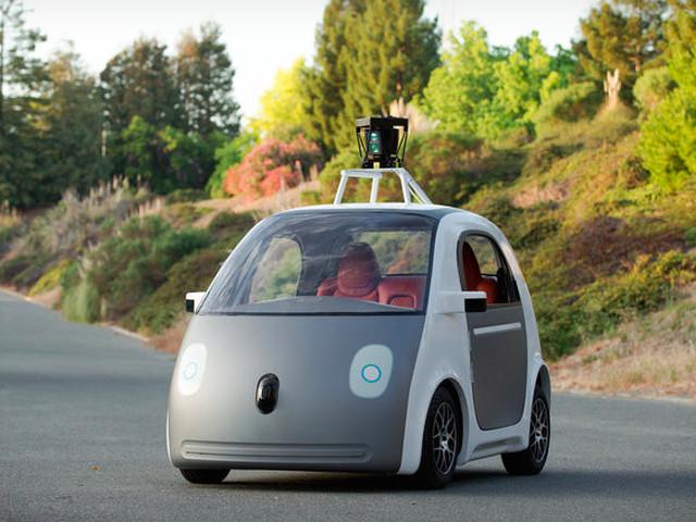 Google показала собственную модель самоуправляемого автомобиля