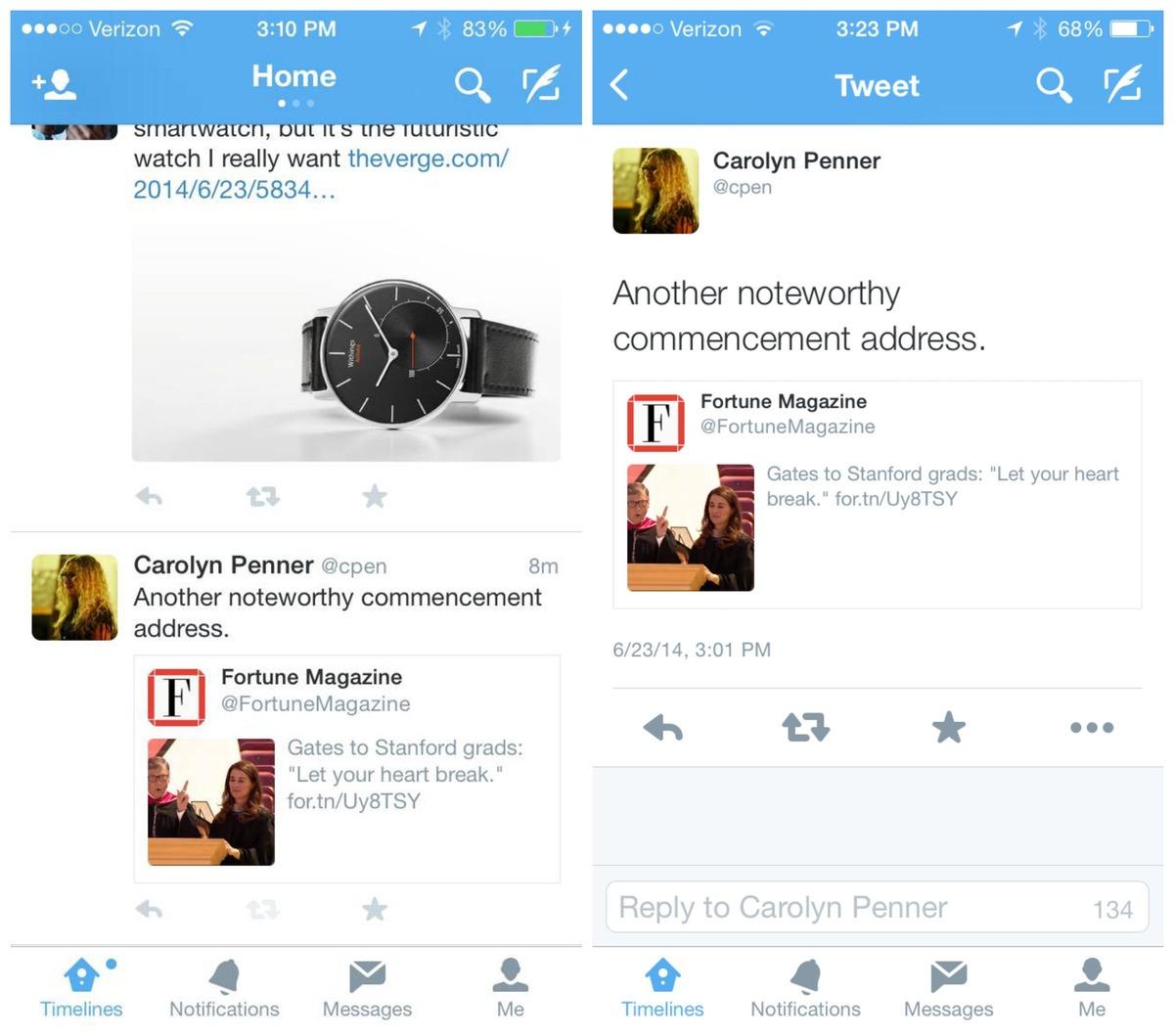Твиттер готовится переосмыслить ретвит
