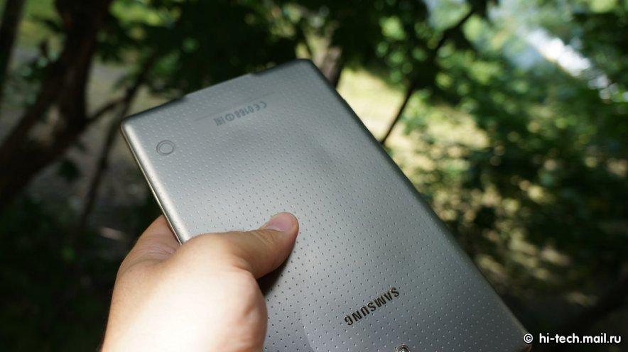 В Super Amoled планшетах Samsung обнаружен серьезный дефект [фото]