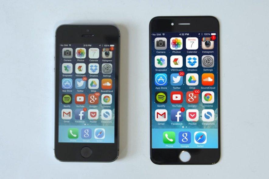 Apple iPhone 6: сверхпрочное стекло и маленькая батарея