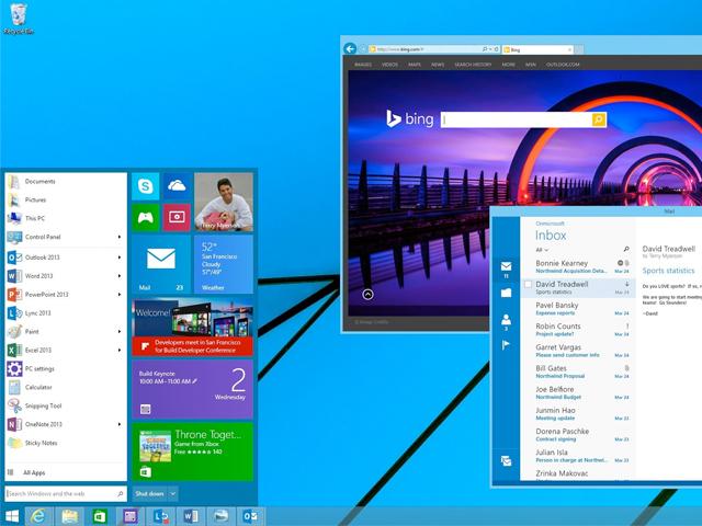 Перейти на Windows 9 можно будет уже через месяц