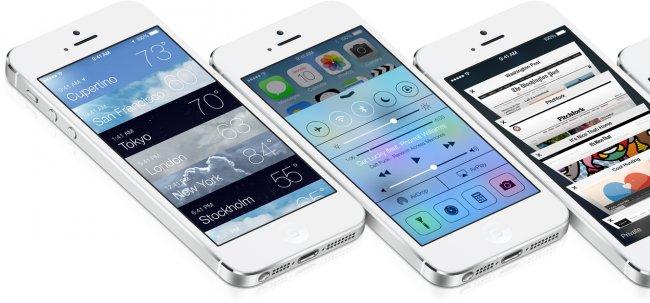 iOS 7 все еще популярнее «восьмерки»