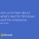 Microsoft позвала на презентацию Windows 9