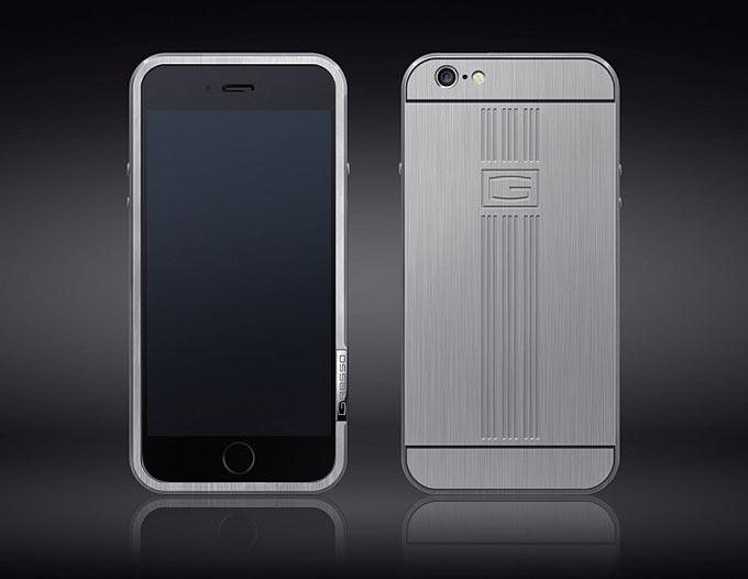 Титановые чехлы Gresso для тех, кто боится согнуть iPhone 6