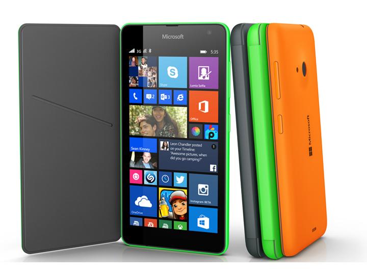 Microsoft анонсировала первый смартфон без бренда Nokia