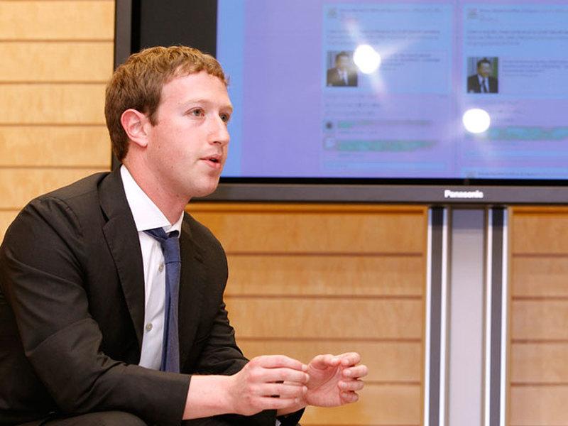 Пользователи Facebook допросили Марка Цукерберга
