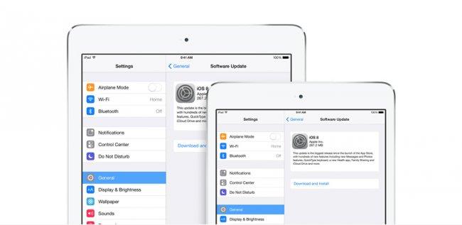 iOS 8.1.3 гуляет в Интернете