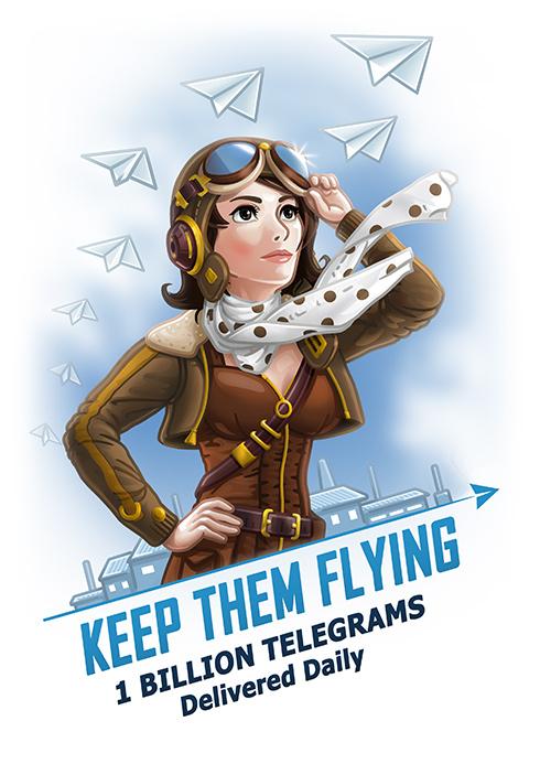 Telegram – 1 миллиард сообщений в день