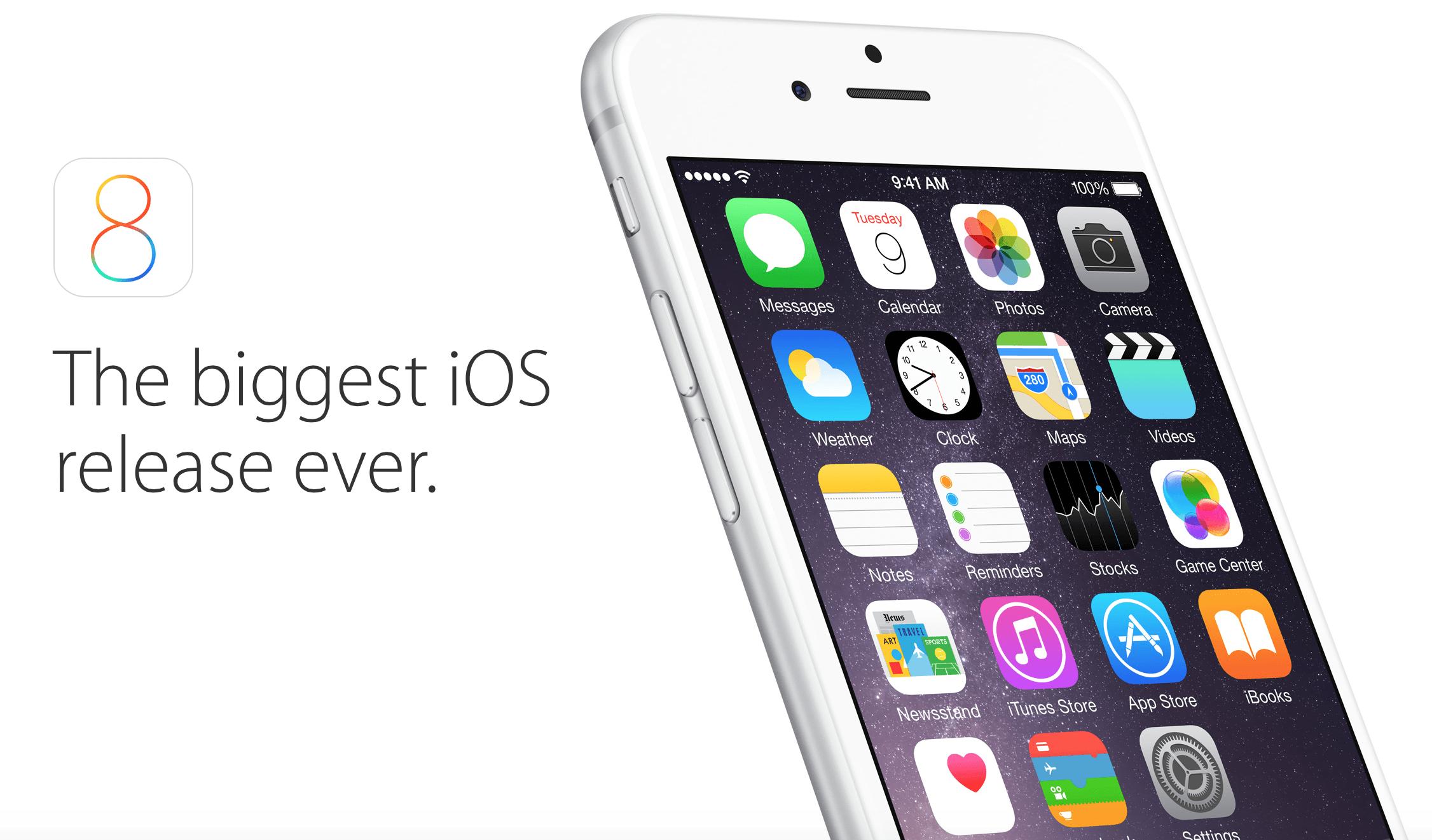 Релиз iOS 8.2 может состояться на следующей неделе